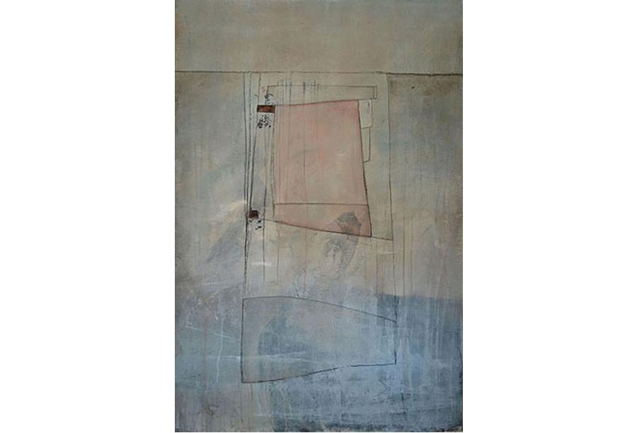 Tecnica mista - Acrilico, intonaco e cera su tela (2017)