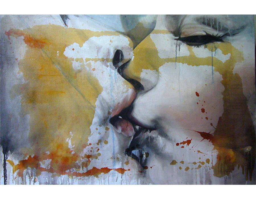 3- Tecnica mista - Acrilico su Intonaco (2011)