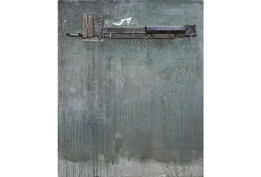 5 - Tecnica mista - Acrilico e Cera su Intonaco (2012)