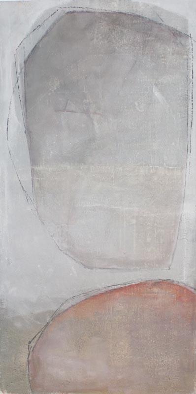 Tecnica mista . Acrilico, intonaco e cera su tela (2019)